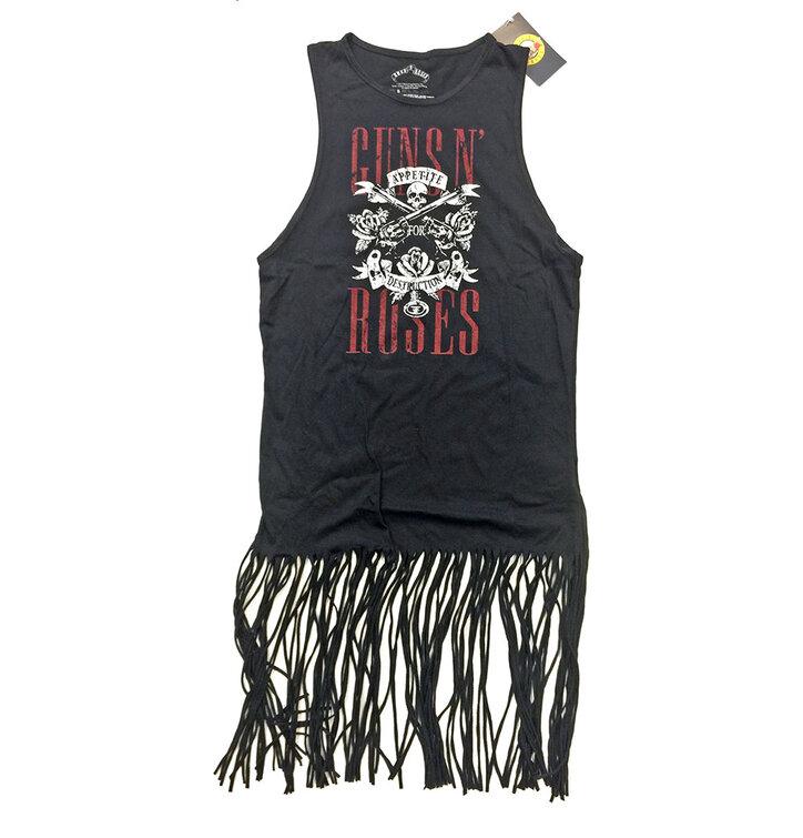 Festivalové minišaty Guns N' Roses Appetite for Destruction