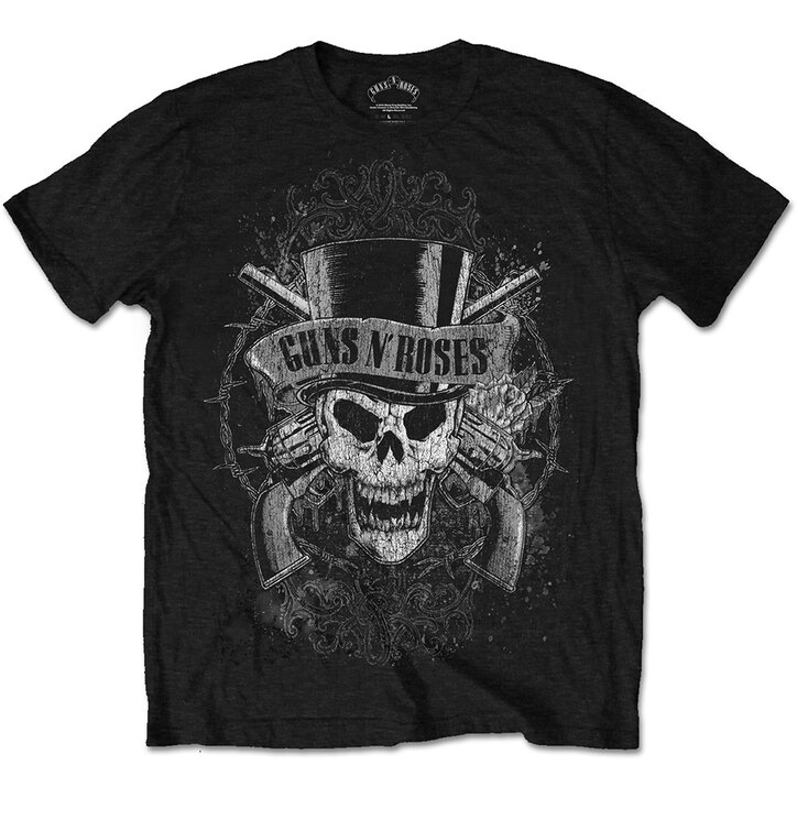 Tričko Guns N' Roses Faded Skull