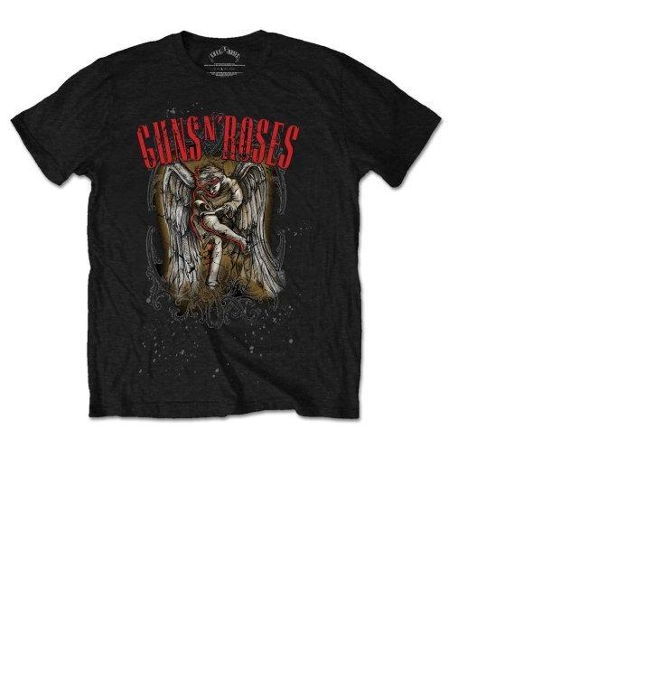 T-Shirt Guns N' Roses Sketched Cherub
