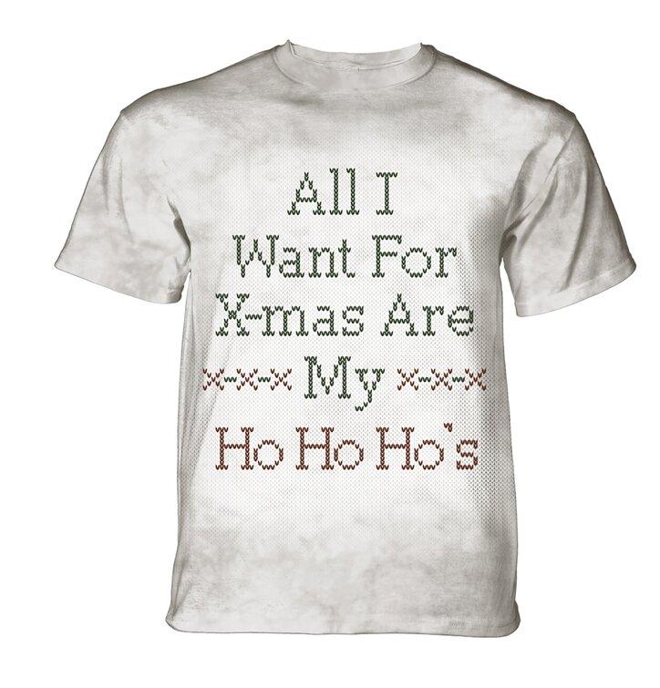 Tričko Vánoce HoHoHo