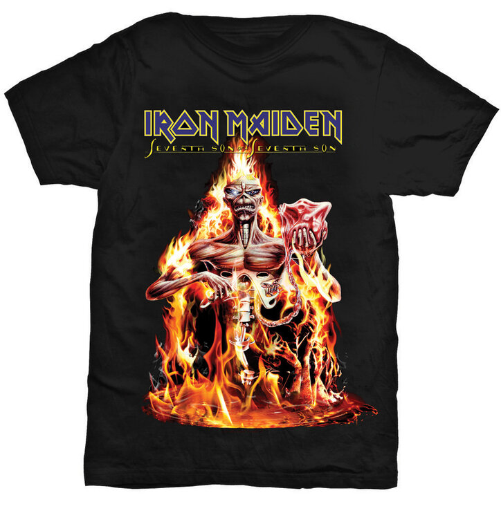 Iron Maiden Seventh Son póló