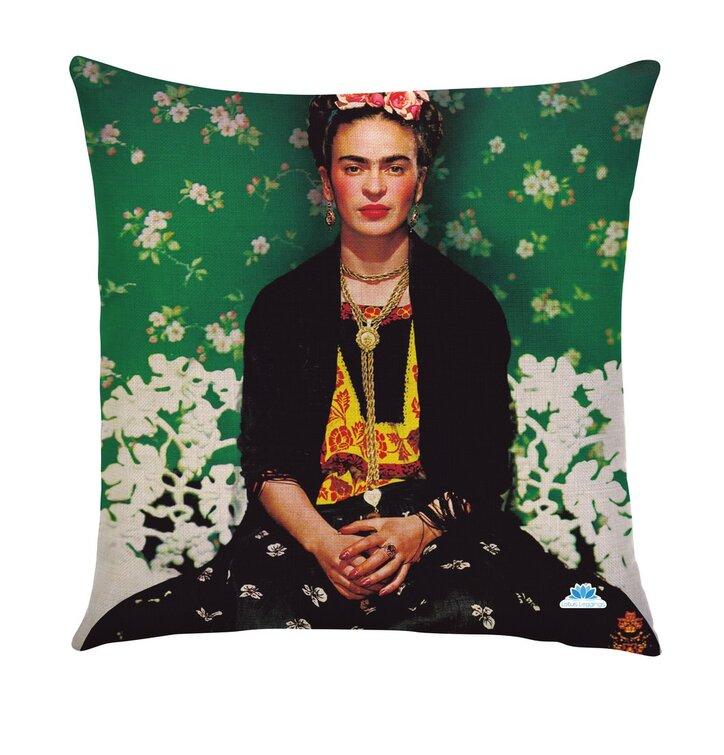 Jednostranná obliečka na vankúš Frida tapeta