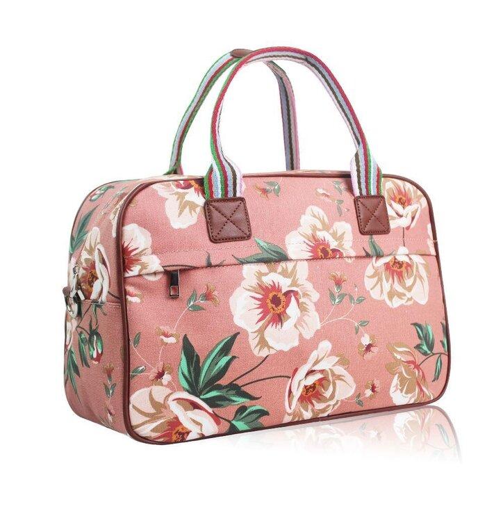 bfdaaf102b8d Kiárusítás Nagy utazótáska Pink floral · Szerezzen magának örömet ezzel a Dedoles  darabbal ...