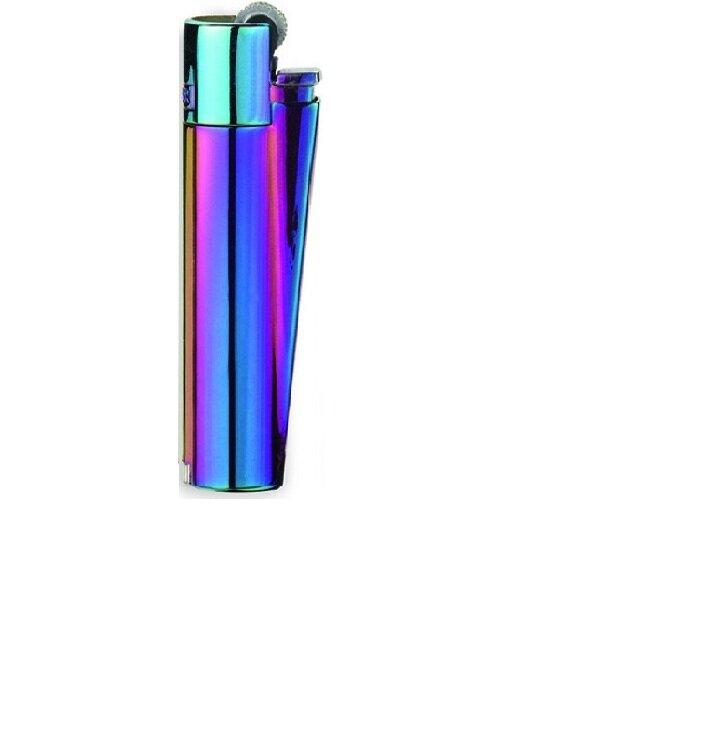 Kovový zapaľovač CLIPPER® Chameleon lesklý