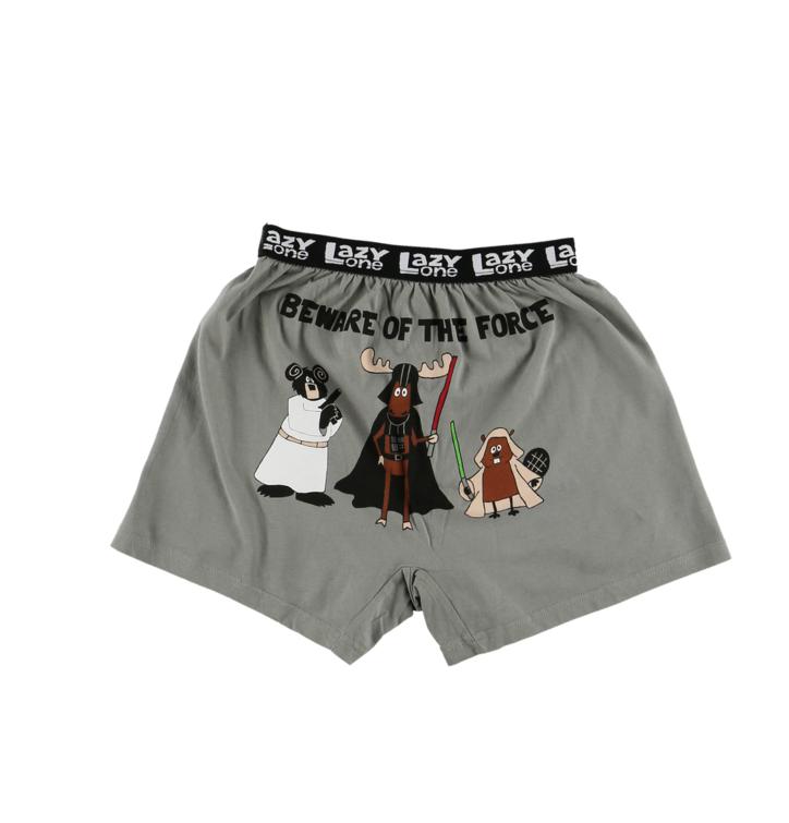 Lifestyle foto Vtipné dětské boxerky Ať tě síla provází 0130565d2d