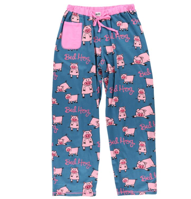 Dámske pyžamové nohavice Lenivé prasiatko