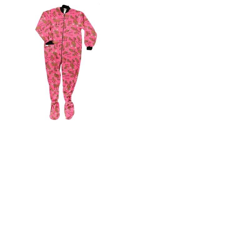 228c76e02 Obrázok produktu Ružový Dupačkový overal pre dospelých Frajer los