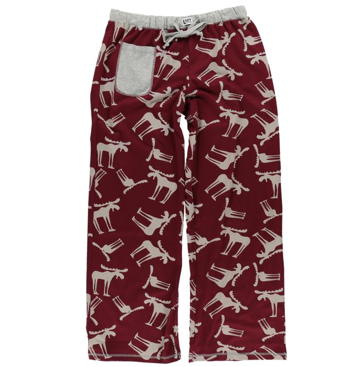 Dámske pyžamové nohavice Bláznivý los