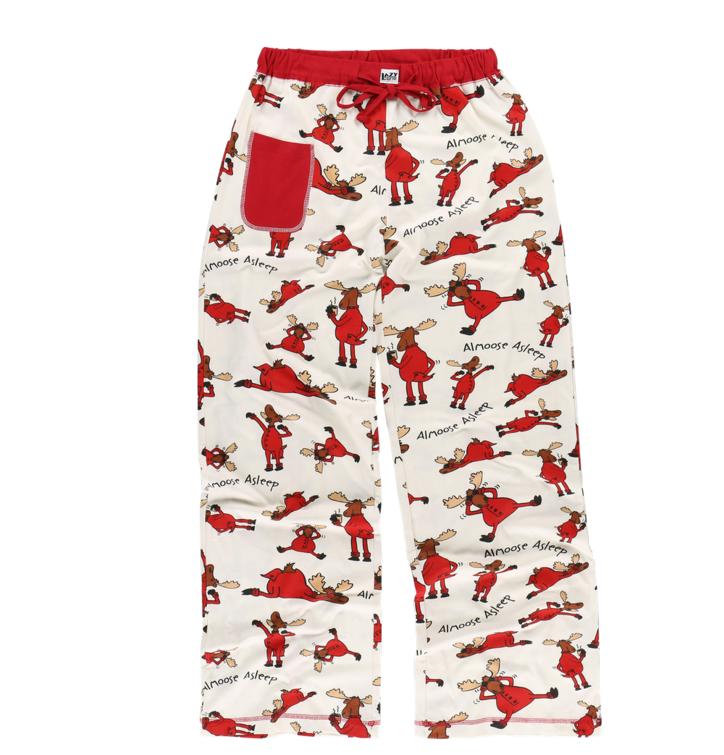 Dámske pyžamové nohavice Zaspávajúci los
