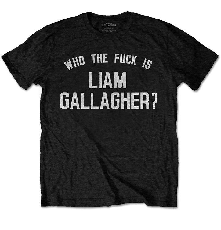Koszulka Liam Gallagher Who the Fuck
