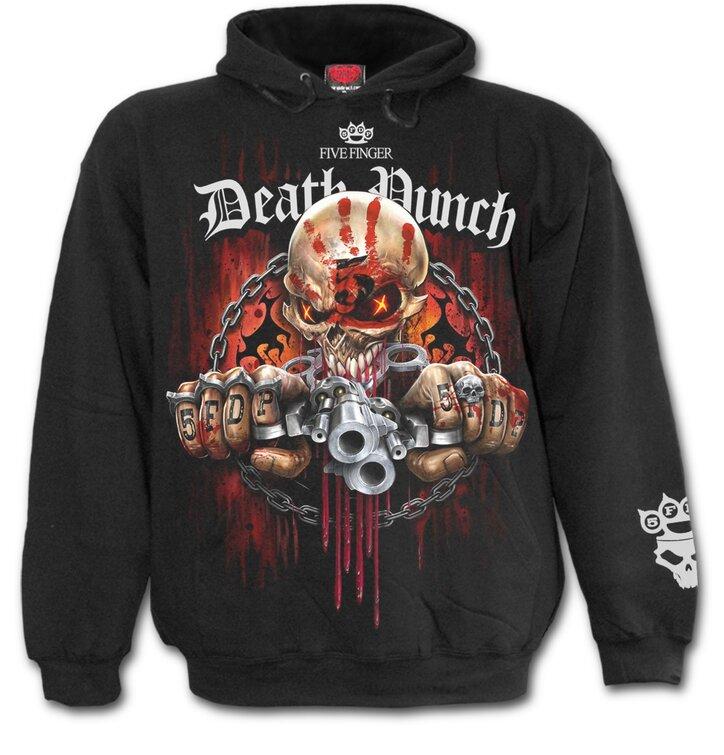 Hledáte originální a neobvyklý dárek  Obdarovaného zaručeně překvapí Mikina  Five Finger Death Punch - 5FDP a830fab373