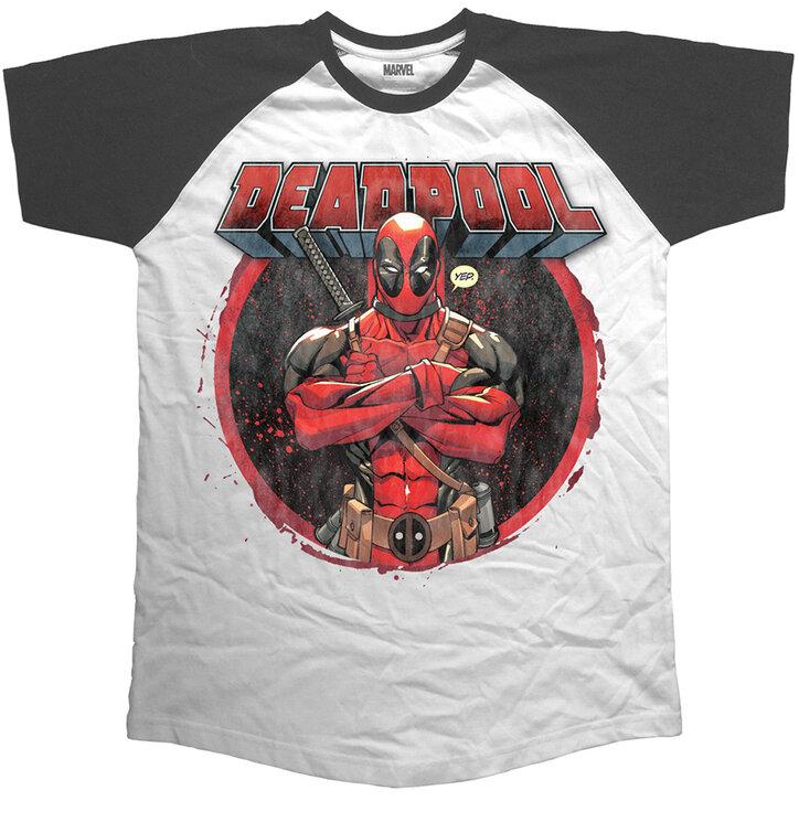 cedcfde14d4f pro dokonalý a originální outfit Tričko Marvel Comics Deadpool Crossed Arms