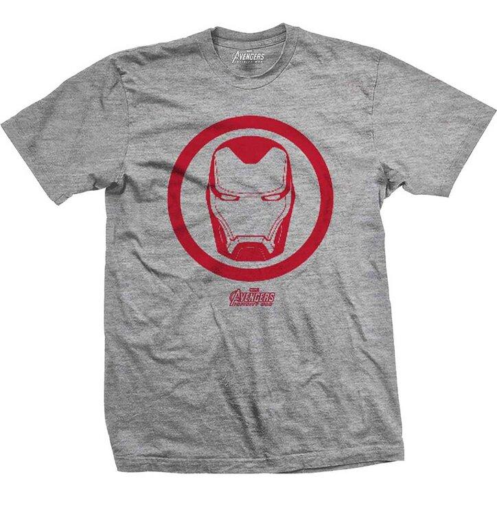 Tričko Marvel Comics Avengers Infinity War Iron Man Icon