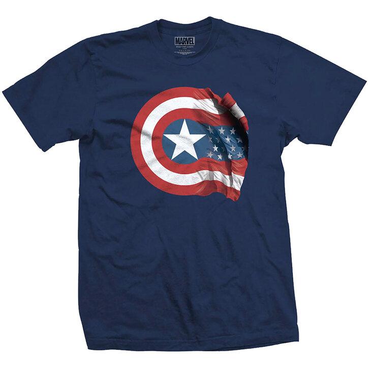 Tričko Marvel Comics Captain America American Shield