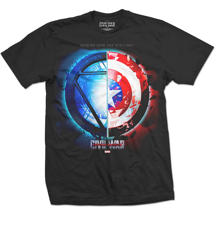 Tricou Marvel Comics Captain America Civil War Whose Side