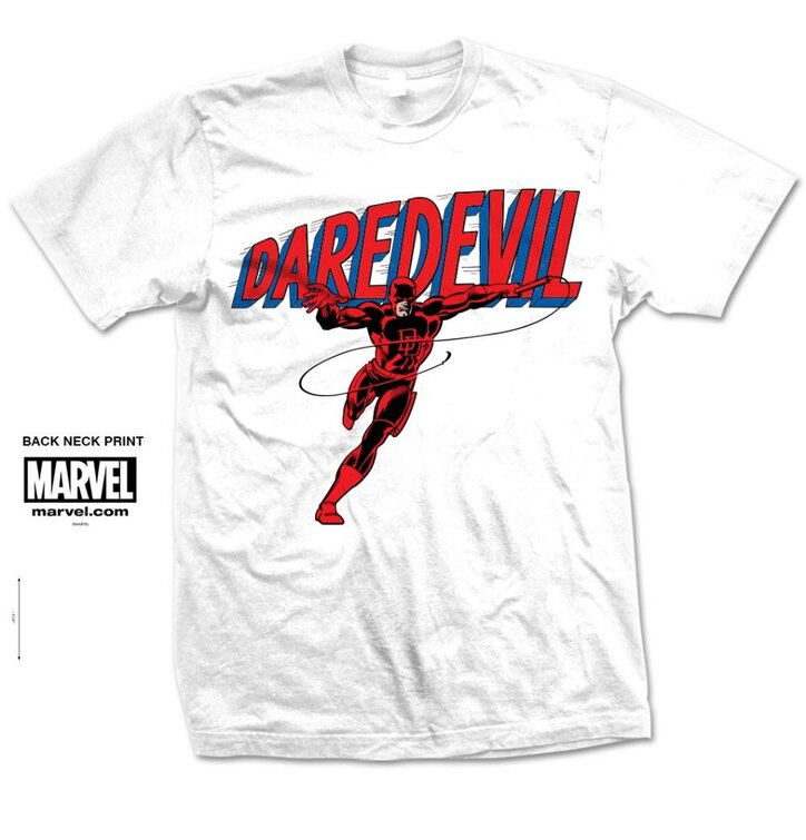 Tricou Marvel Comics Dare-Devil Logo