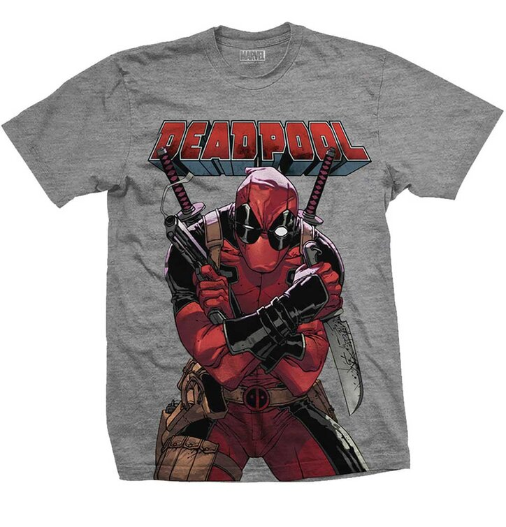 Tričko Marvel Comics Deadpool Big Print