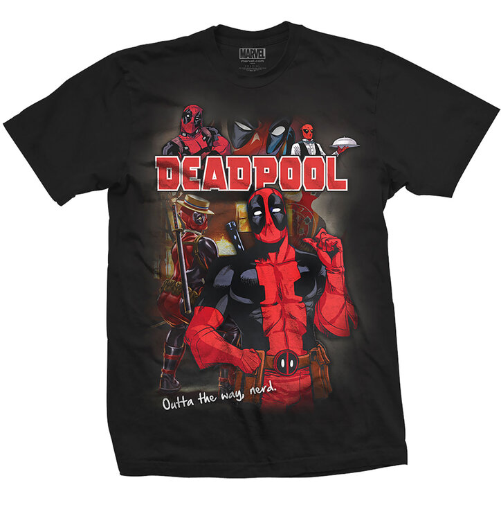 Tricou Marvel Comics Deadpool Homage