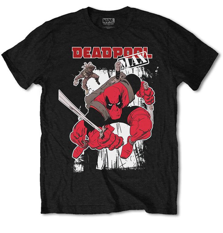 7c3381467bf7 Hledáte originální a neobvyklý dárek  Obdarovaného zaručeně překvapí Tričko  Marvel Comics Deadpool Max