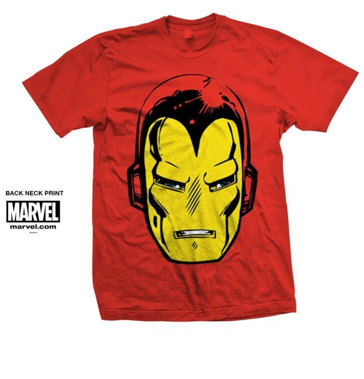 Tričko Marvel Comics Iron Man Big Head