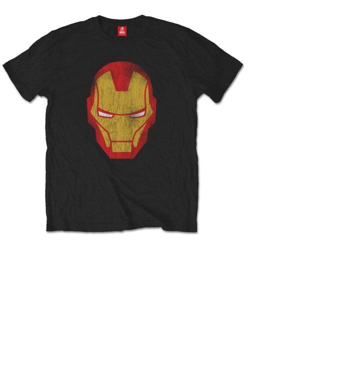 Tričko Marvel Comics Iron Man Distressed