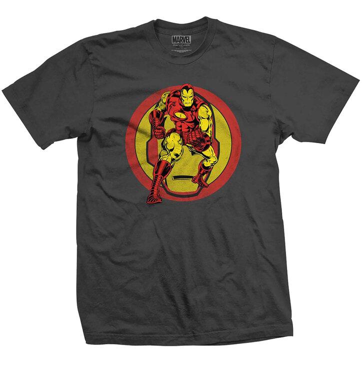 Tričko Marvel Comics Iron Man Dual