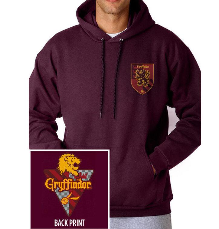 Dukserica s kapuljačom Harry Potter- Fakultet Gryffindor
