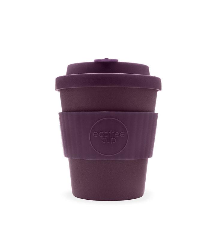 Mini bambusový ecoffee cup fialový