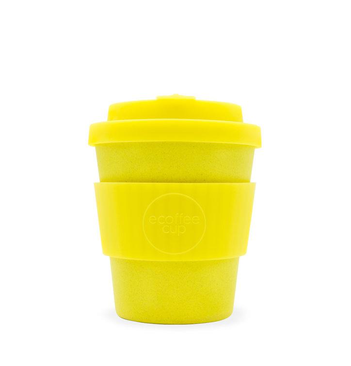 Mini Bambusový ecoffee cup žlutý