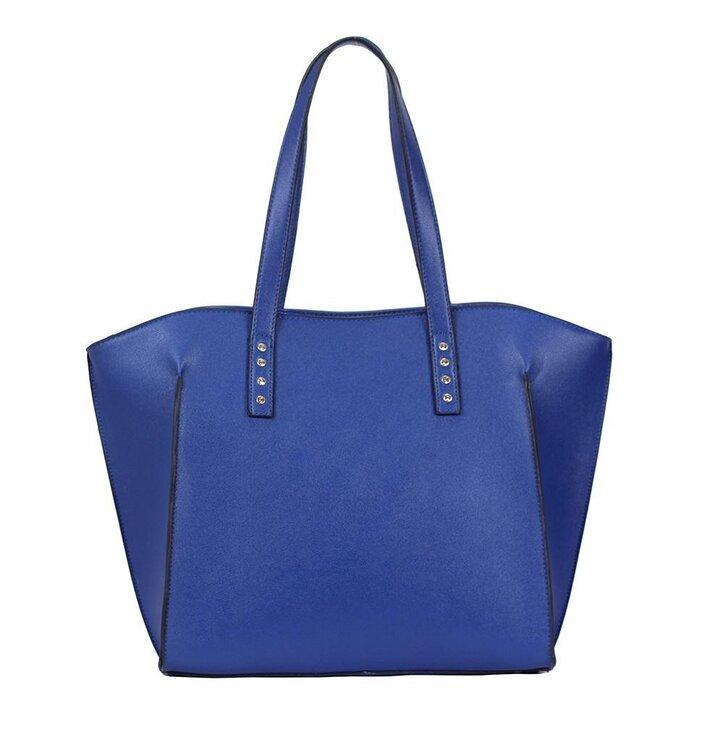 Potěšte se tímto kouskem Dedoles Modrá kabelka na rameno Halia 5c49e6d4fcf