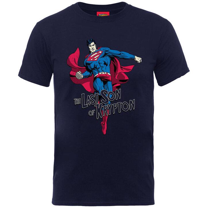 Tricou albaștru pentru copii  Superman Son of Krypton