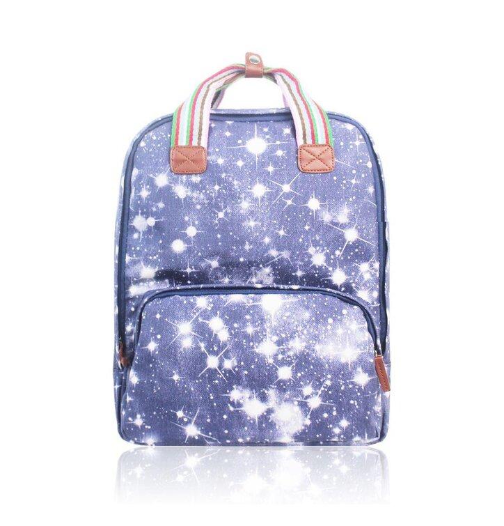 Výjimečný dárek od Dedoles Modrý batoh na notebook Hvězdná obloha e27e1210d1