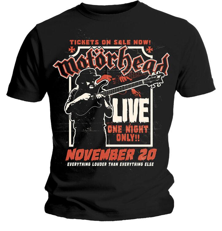 Tričko Motorhead Lemmy Firepower