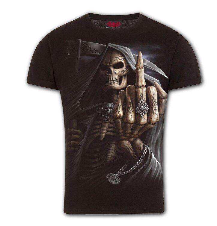 Obtiahnuté tričko Kosti prstov
