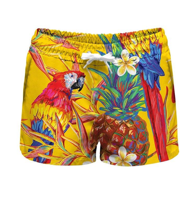 ccbb86b55ec Sleva Pánské plavky Papoušci v ráji