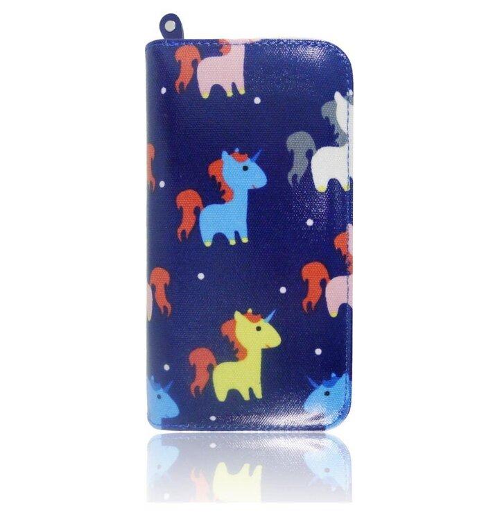 Peňaženka Miniunicorn modrá