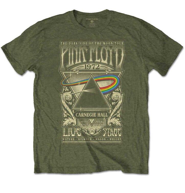Tričko Pink Floyd Carnegie Hall Poster