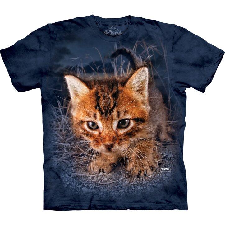 Tričko Koťátko v trávě