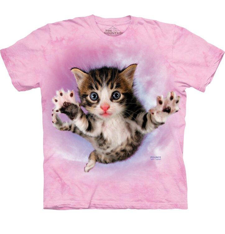 Detské tričko Lietajúce mačiatko
