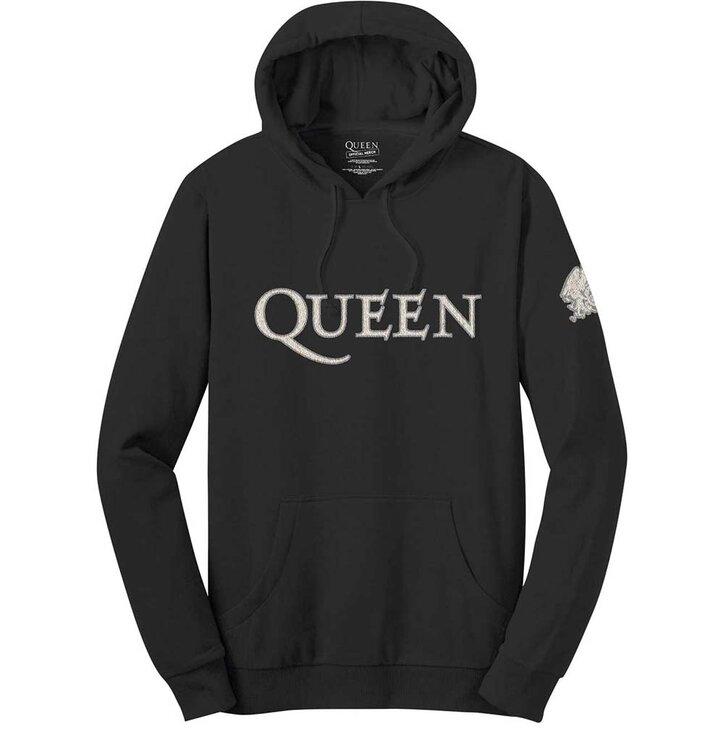 Mikina s kapucňou Queen Logo