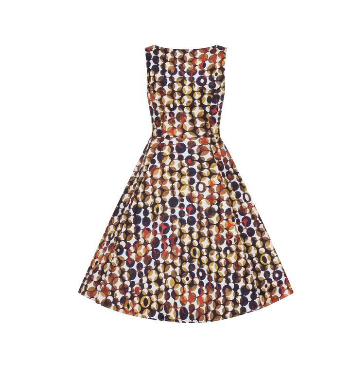 1c6aac6012a0 Výprodej Retro pin up šaty Tečky