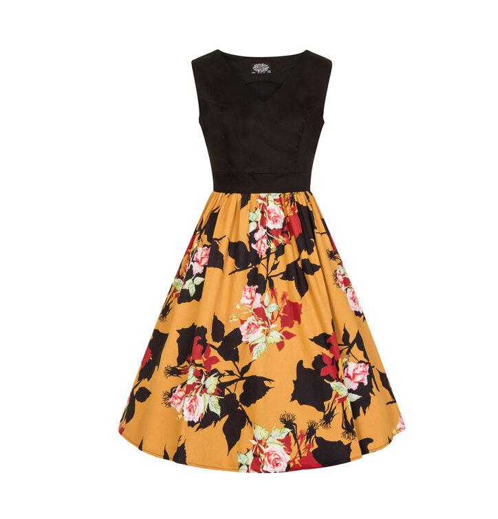 93542a5b8ec pro dokonalý a originální outfit Retro pin up šaty Divoká růže · Výjimečný  dárek od Dedoles ...