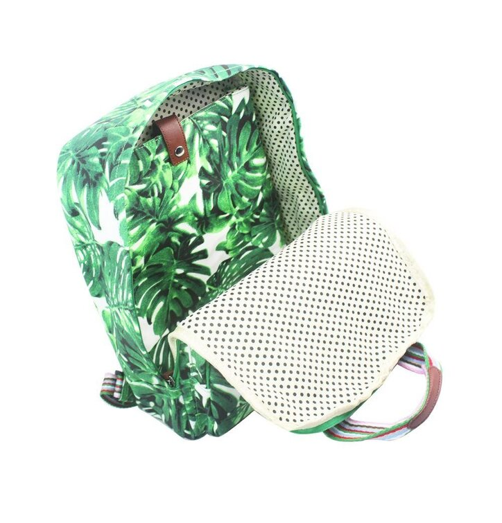 Sleva Batoh na notebook Green Hawaii. Výjimečný dárek od Dedoles ... 7e6115a8b0