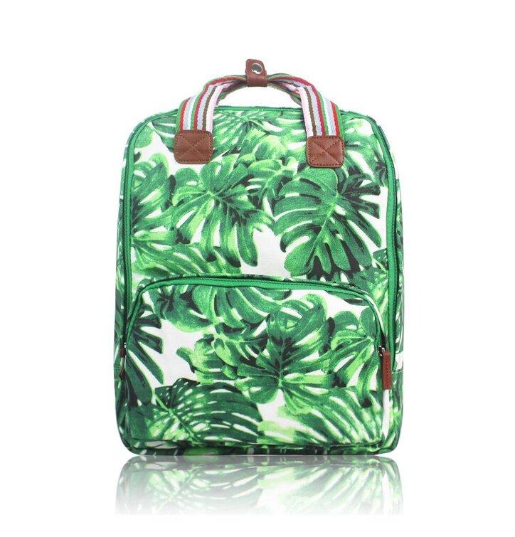 Výjimečný dárek od Dedoles Batoh na notebook Green Hawaii. Výprodej Batoh  na notebook Green Hawaii 0aa374e104