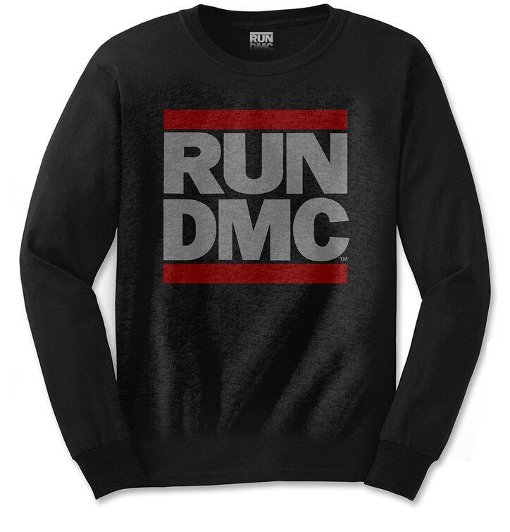 Tričko s dlhým rukávomRun DMC Logo