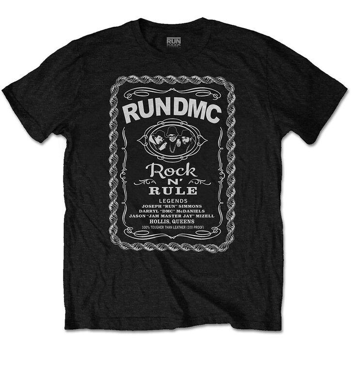 Tričko Run DMC Rock N´ Rule