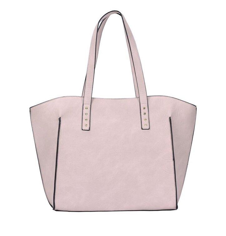 Lifestyle foto Růžová kabelka na rameno Halia 733a797ac4f