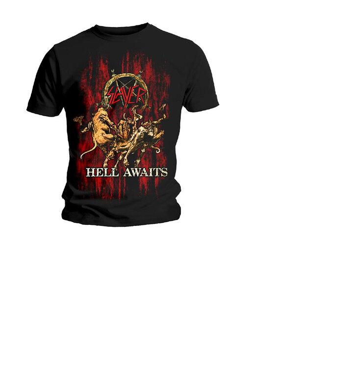 Tričko Slayer Hell Awaits