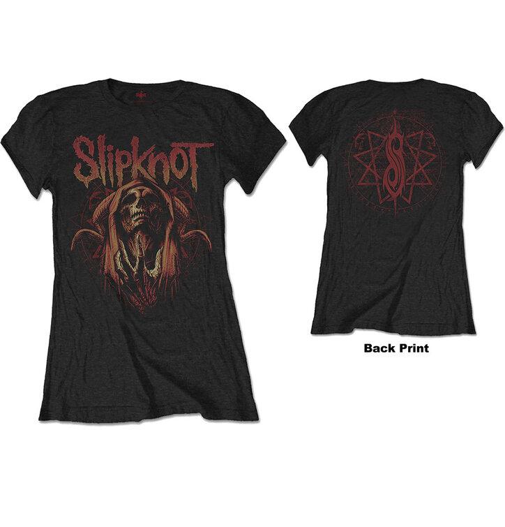 Dámske obojstranné tričko Slipknot Evil Witch