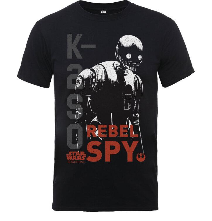 Dječja majica Star Wars Rogue One K2SO Rebel Spy